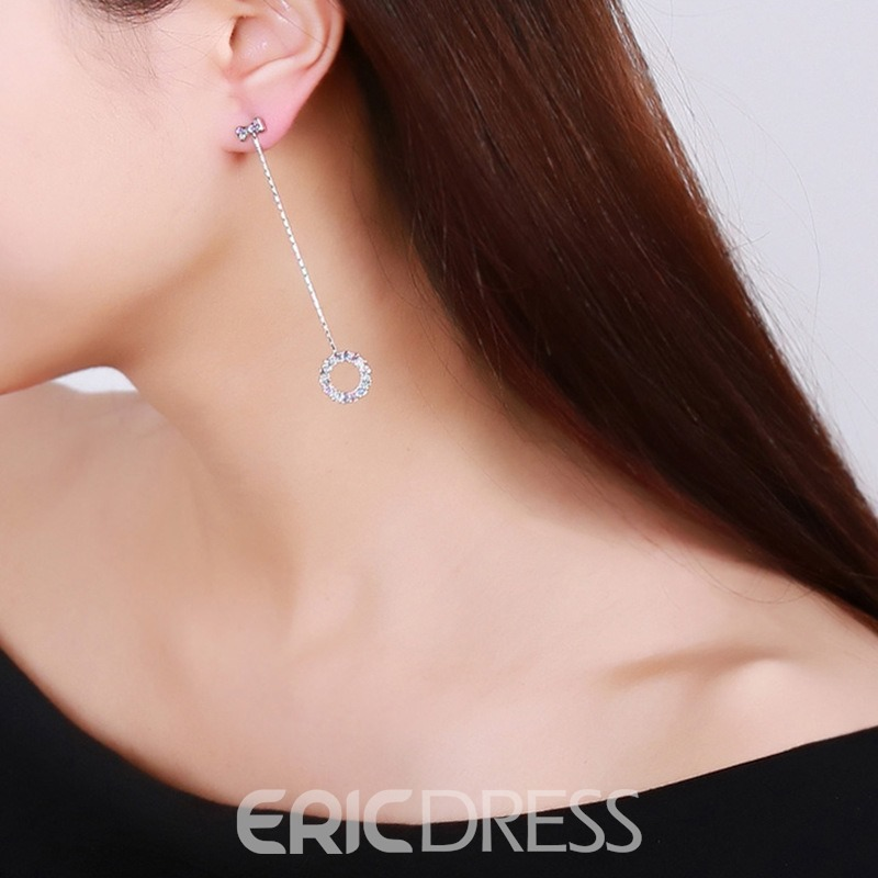 Ericdress Bowknot Ring Fashion Earrings