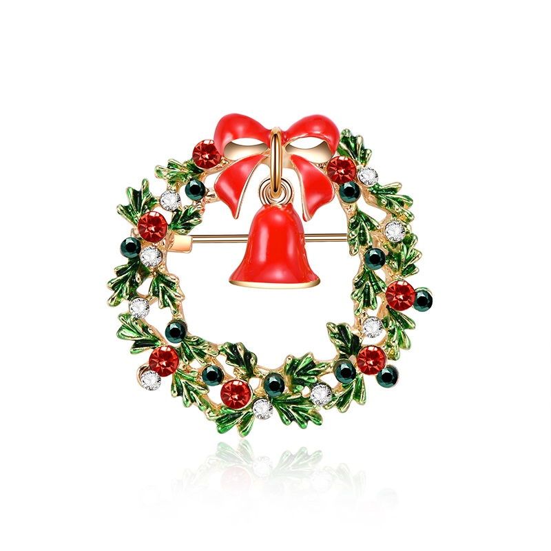 Ericdress Christmas Bell Brooches