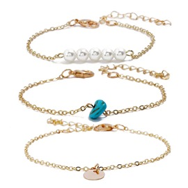 Ericdress Pearl Fashion Bracelet Set