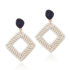 Ericdress Rattan Fashion Earrings