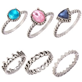 Ericdress Color Rhinestone Rings