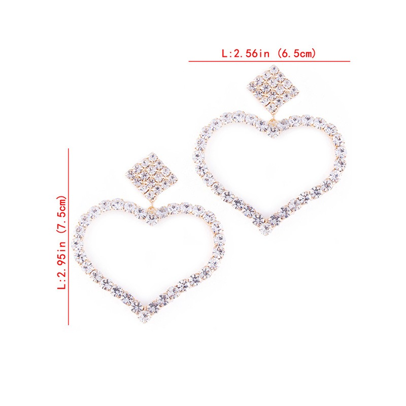 Ericdress Square Heart Fashion Earrings
