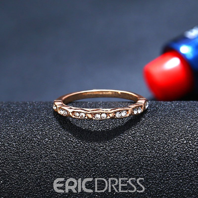 Ericdress Brief Alloy Ring