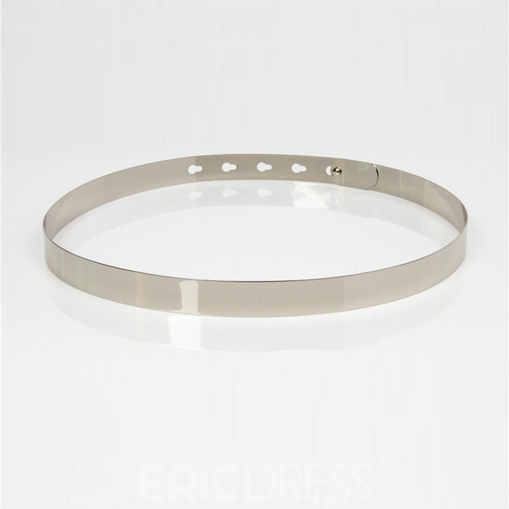 Ericdress Metal Women Belt