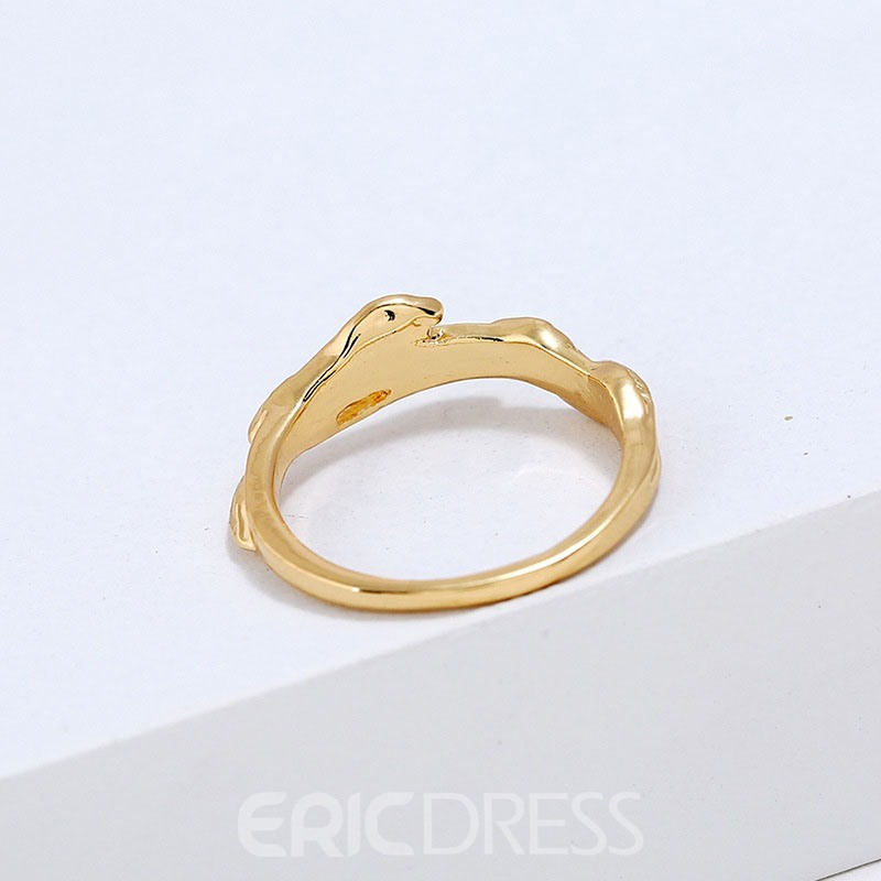 Ericdess Leafage Carving Ring