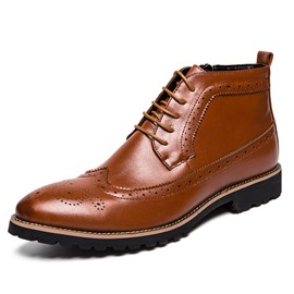 Ericdress Side Zipepr Men's Martin Boots