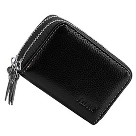 Ericdress Leather Zipper Short Card Bag