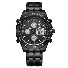 Ericdress Man Double Dial Dark Night Watch