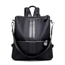 Ericdress Casual Plain Nylon Zipper Backpack