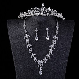 Ericdress Wedding Tiara&Jewelry Set