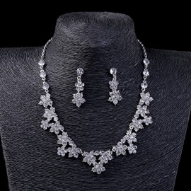 Ericdress Floral Wedding Jewelry Set