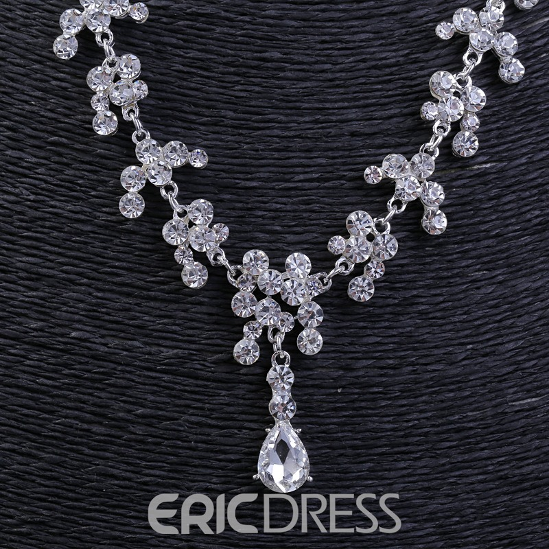 Ericdress Rhinestone Wedding Jewelry Set