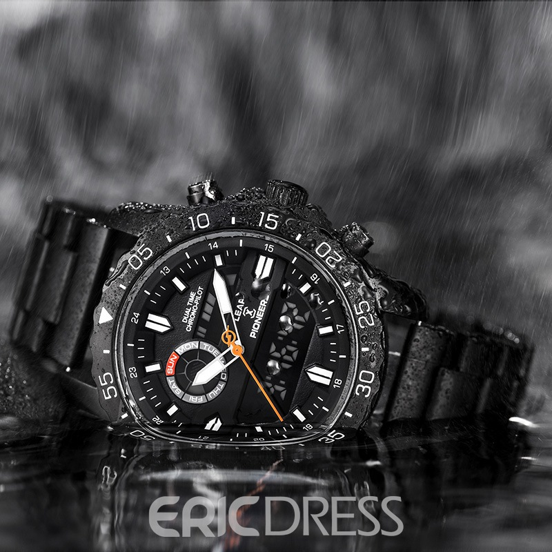 Ericdress Silica Gel Waterproof Men Watches