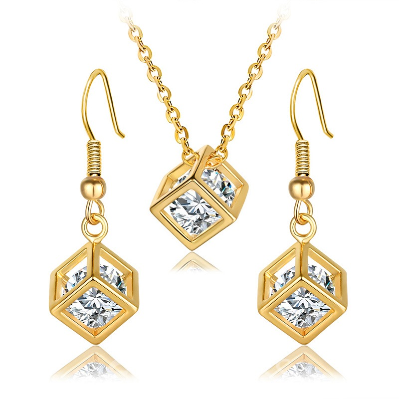 Ericdress Diamante Jewelry Set