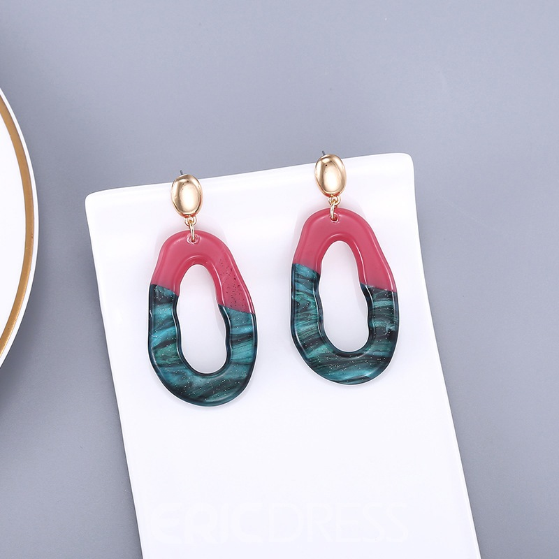 Ericdress MulticolorAcrylic Earrings