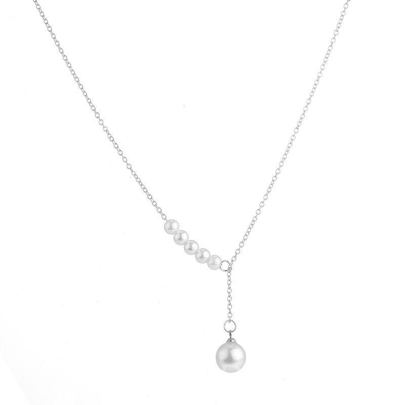 Ericdress Pearl Charm Necklace