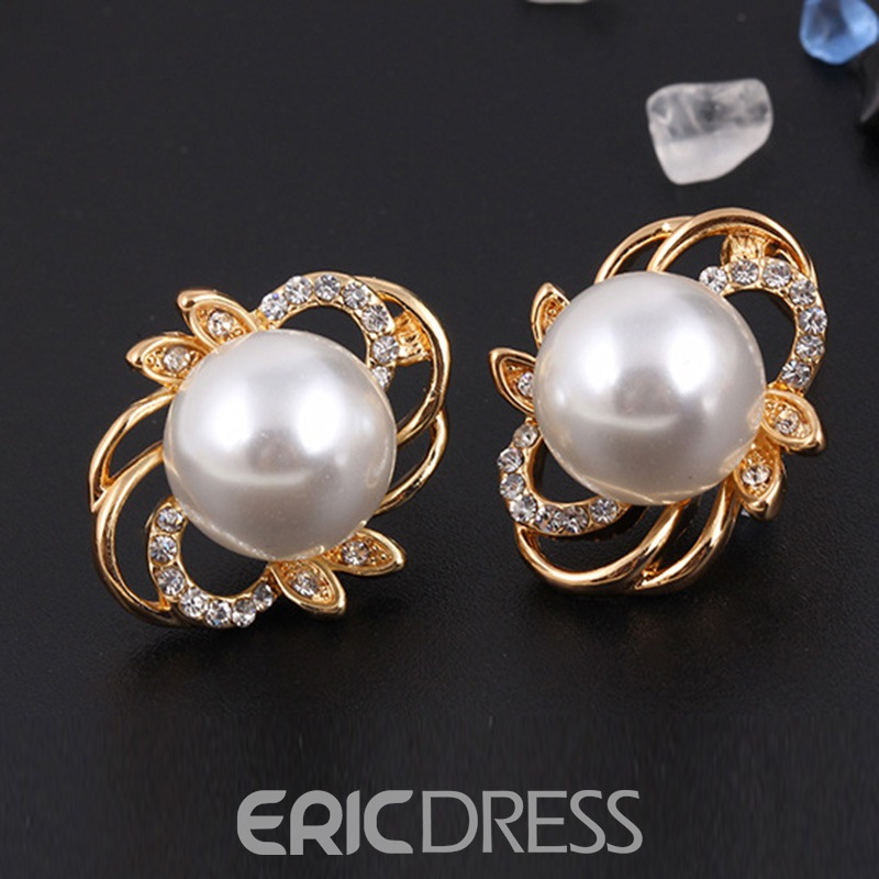 Ericdress Flower Rhinestone Jewelry Set