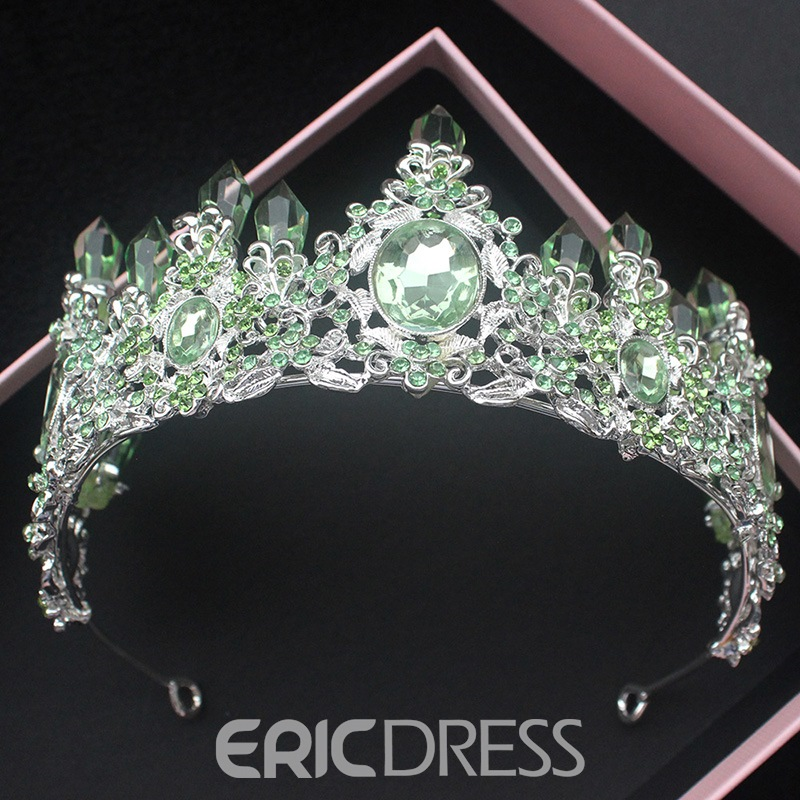Ericdress Rhinestone Green Quartz Jewelry Sets