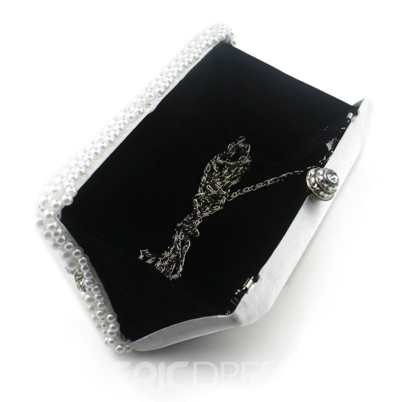 Ericdress Rhinestone Beads Small Clutch