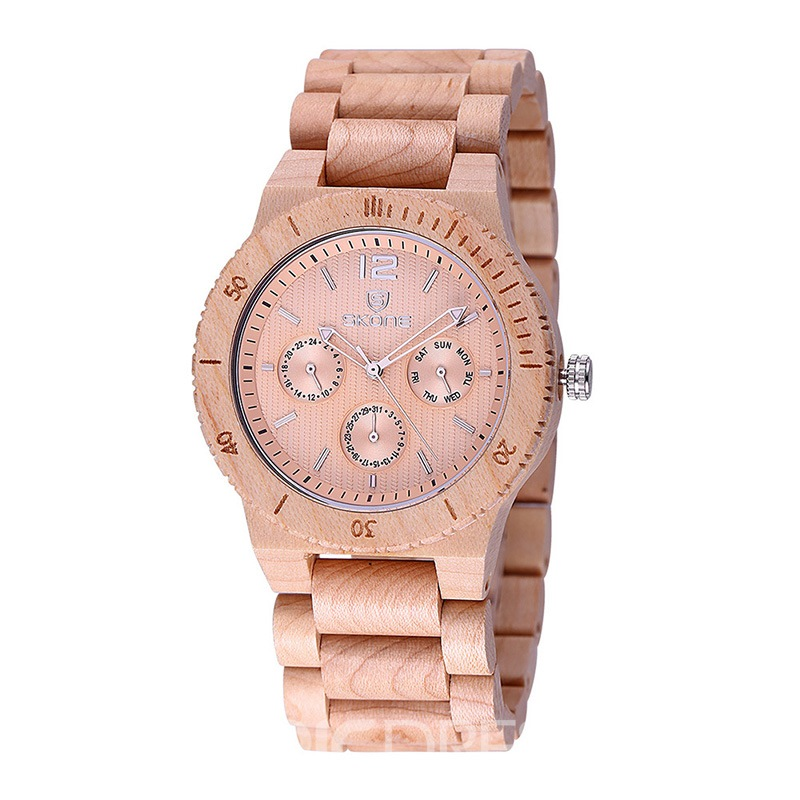 Ericdress Wooden Men's Watch