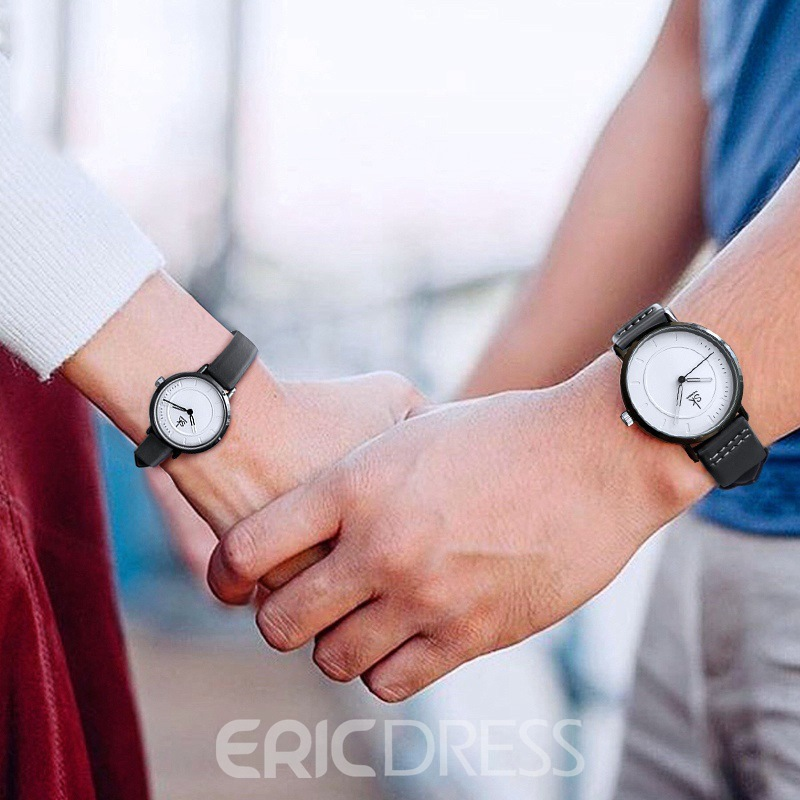 Ericdress Lover Leather Watch