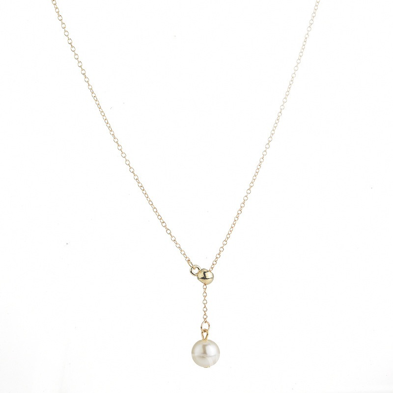 Ericdress Pearl Alloy Necklace