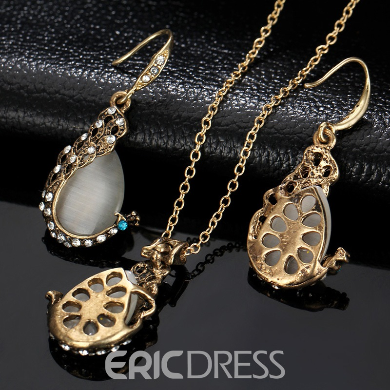 Ericdress Opal Diamate Jewelry Set