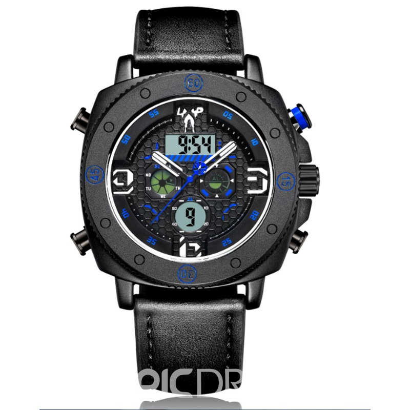 Ericdress Double Display Electronic Waterproof Watch