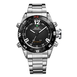 Metal Quartz Watch For Men