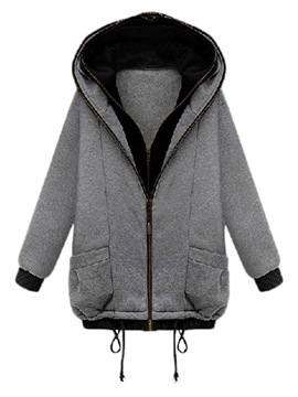 Ericdress Patchwork Hooded Double-Layer Long Sleeves Cool Hoodie