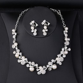 Ericdress Pearl Fruit Jewelry Set