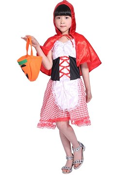 Ericdress Little Red Riding Hood Girl's Halloween Costumes