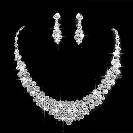 Ericdress Shining Wedding Bride Jewelry Set