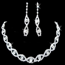 Ericdress Shining Eye Wedding Jewelry Set For Bride