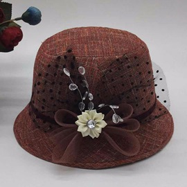 Ericdress Dot Lace Hat For Women