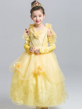 Ericdress Mesh Printed A-Line Princess Girl's Halloween Costumes