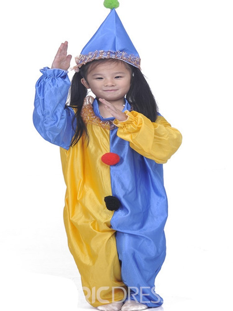 Ericdress Pullover Patchwork Clown pattern Boys Outfits