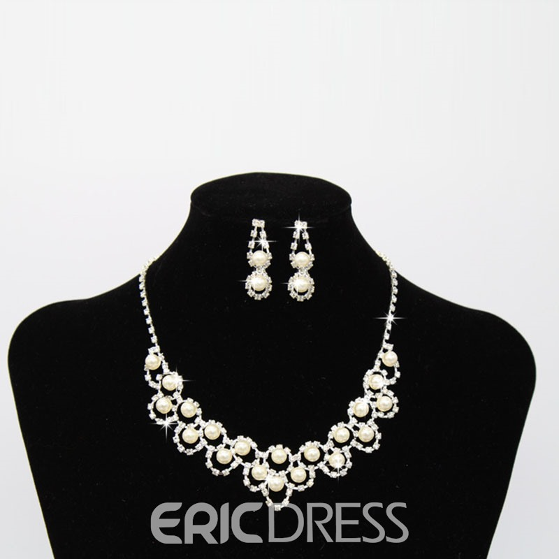 Ericdress Luxury Pearl Lady Jewelry Set