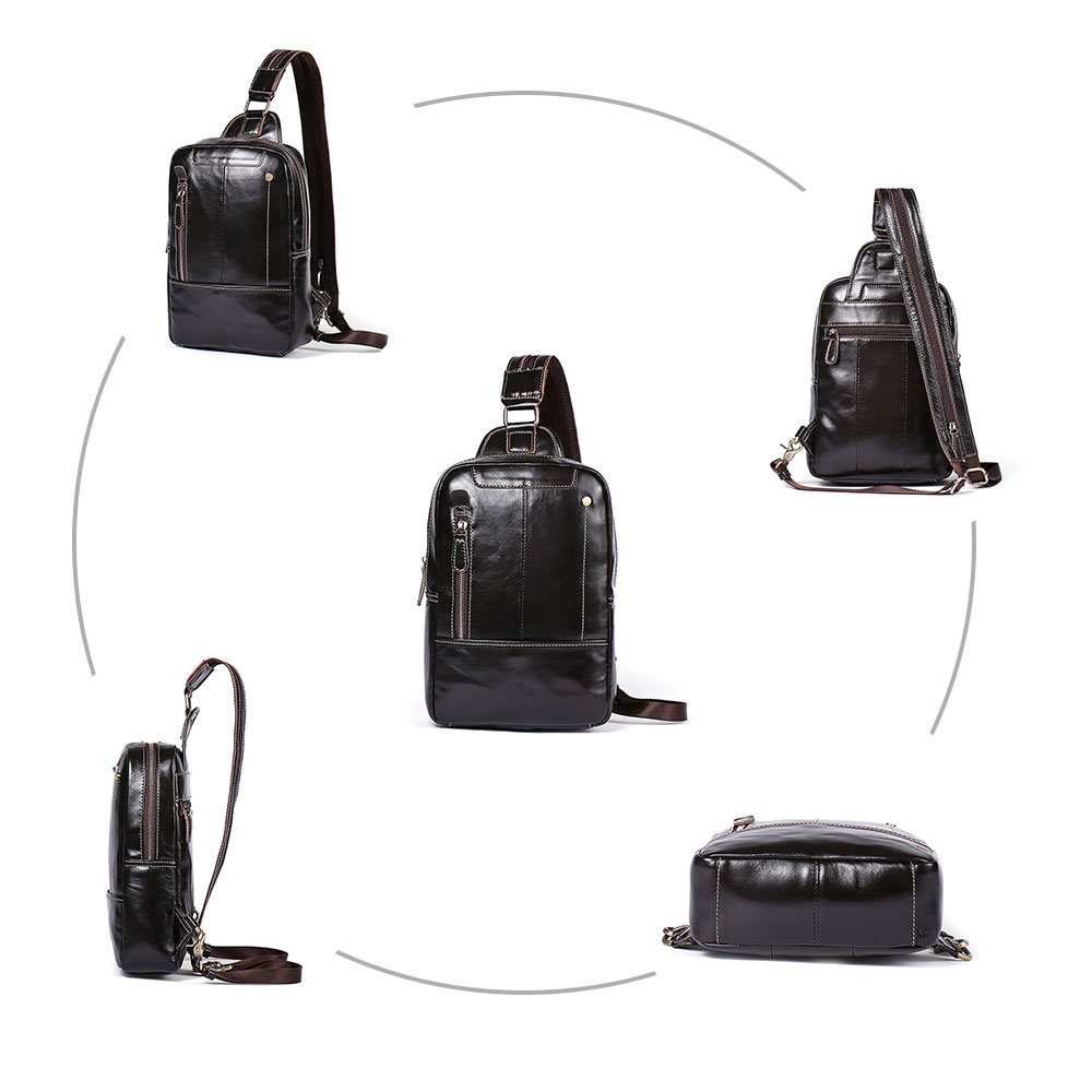 Ericdress Leather Chest Packs
