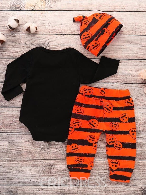 Ericdress European Cartoon Letter Stripe Boys Outfits