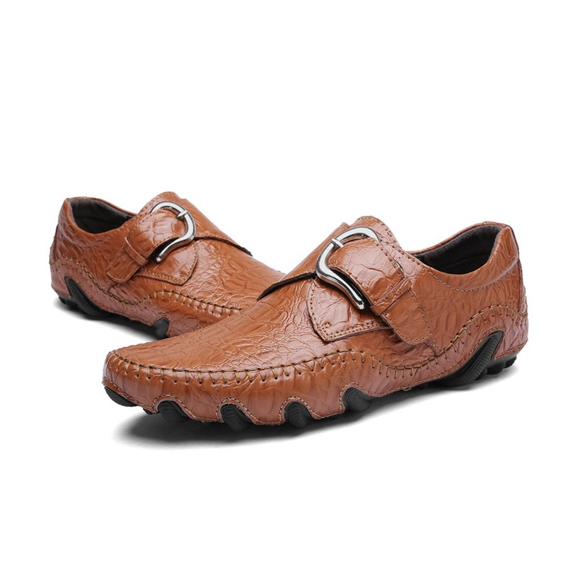 Ericdress Round Toe Slip-On Men's Shoes