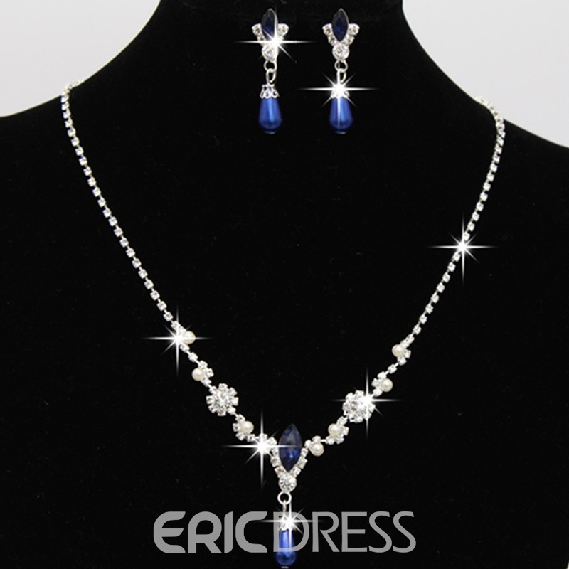 Ericdress Shining Color Pearl Jewelry Set