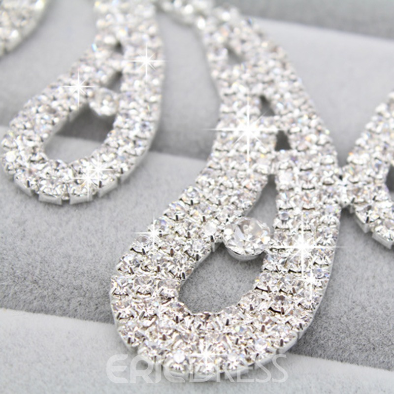 Ericdress Luxury Rhinestone Wedding Jewelry Set