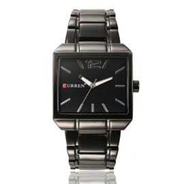 Ericdress Square Time Zone Watch For Men
