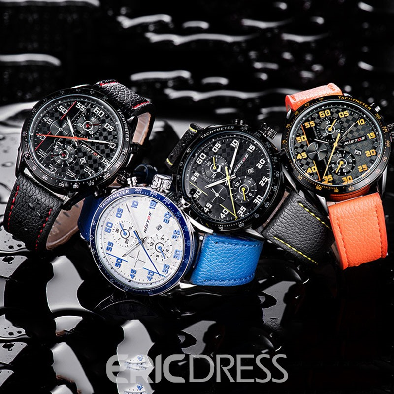 Ericdress Colourful Round Quartz Men Watch