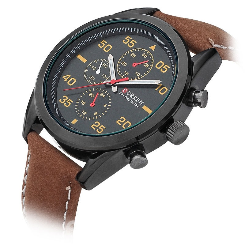 Ericdress Classics Leather Watch For Men