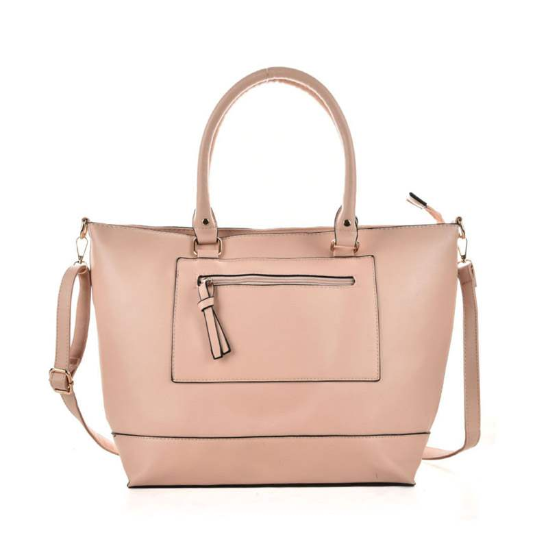 Ericdress Plain Barrel Shaped Medium Handbag