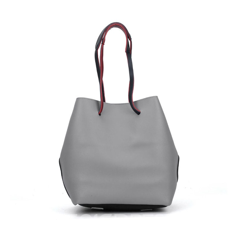 Ericdress Color Block Barrel Shaped Shoulder Bag