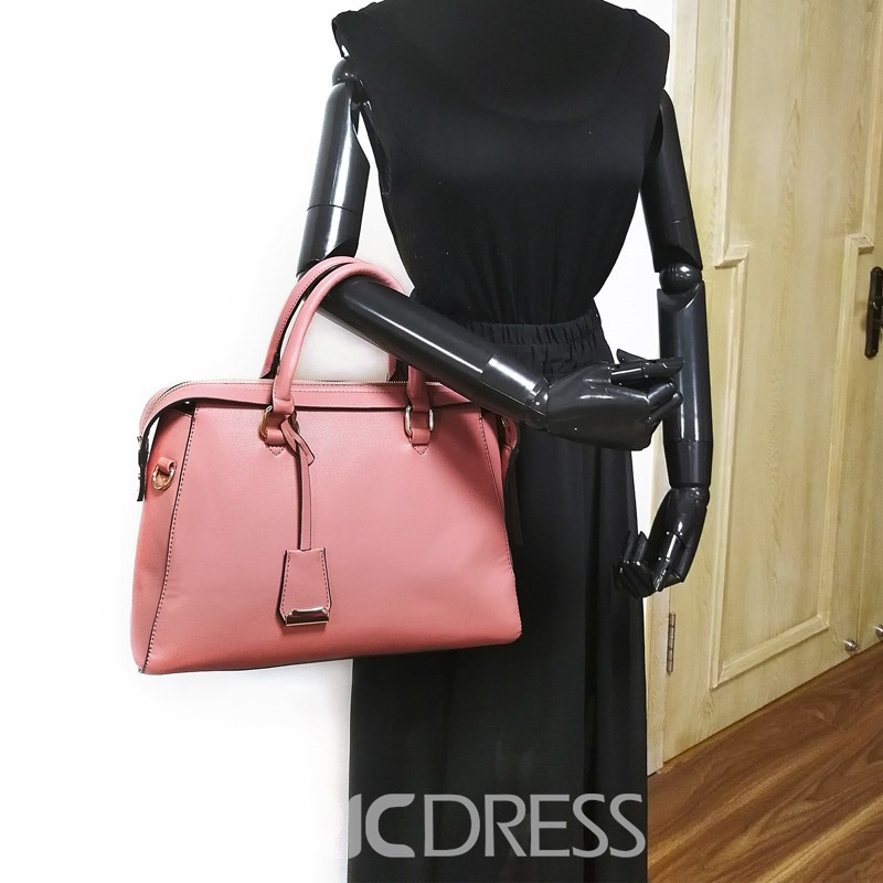 Ericdress Plain Belt Decorated Soft Women Handbag