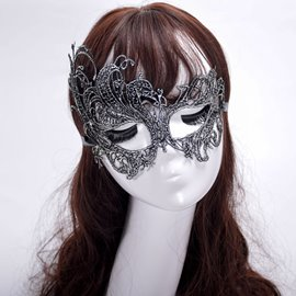 Ericdress Halloween Lace Butterfly Mask